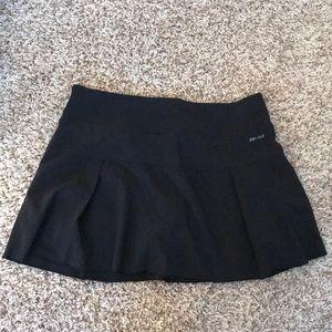 Nike Black Workout Skirt